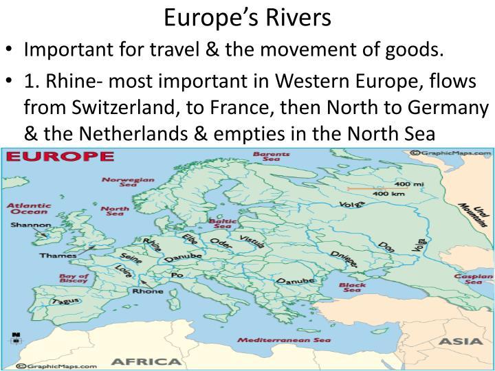 Europe's Rivers
