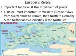 europe s rivers