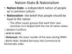 nation state nationalism