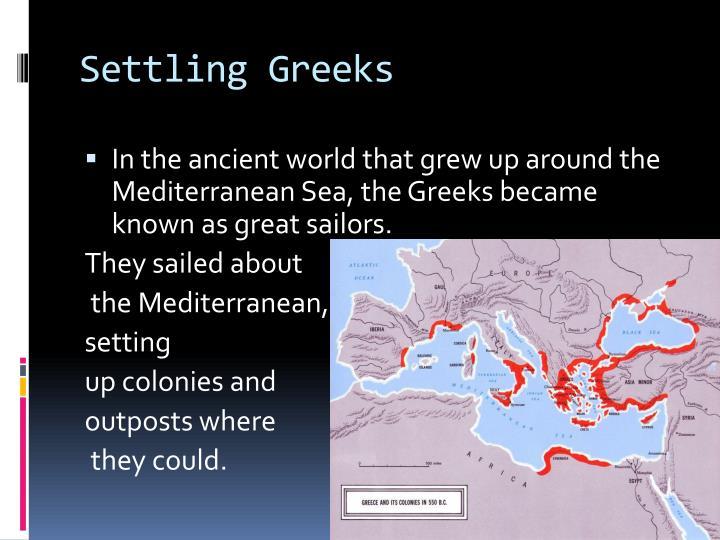 Settling Greeks