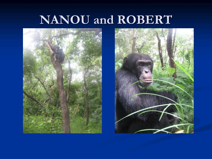NANOU and ROBERT