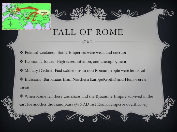 Fall of