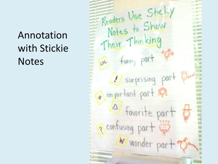 Annotation with