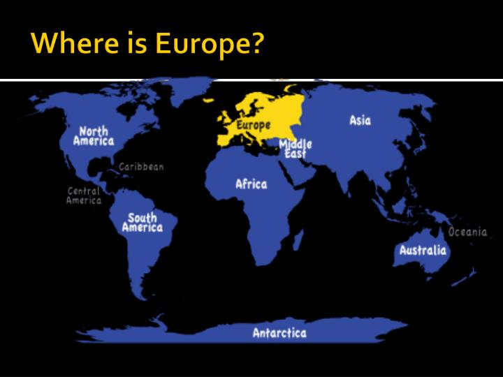 Where is Europe?
