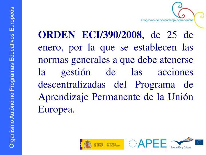 ORDEN ECI/390/2008