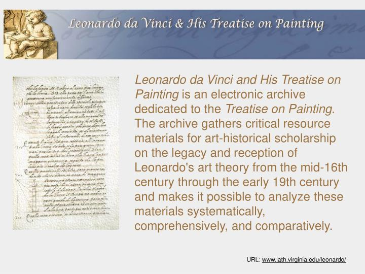 Leonardo da Vinci and His Treatise on Painting