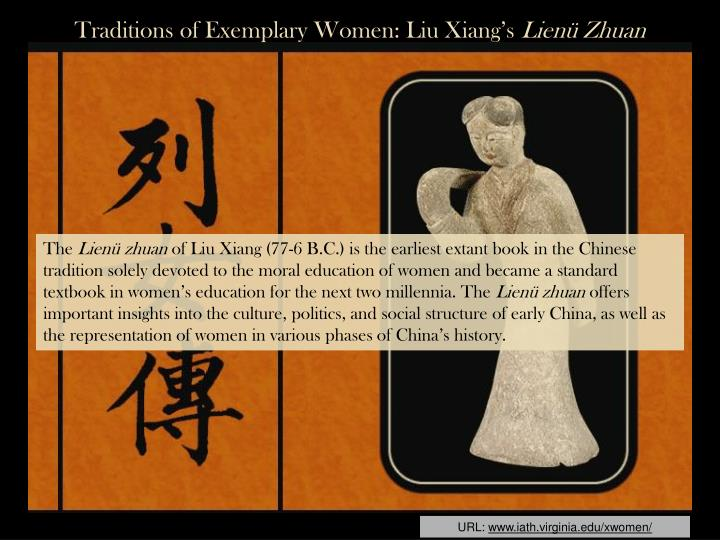 Traditions of Exemplary Women: Liu Xiang's