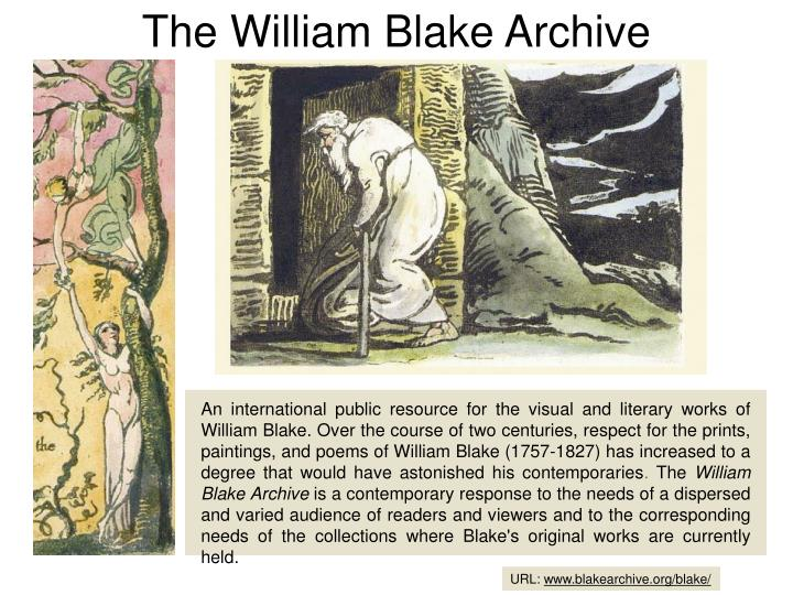 The William Blake Archive