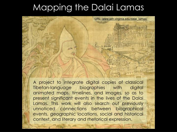 Mapping the Dalai Lamas