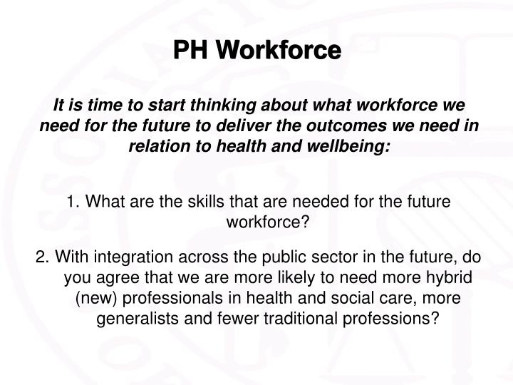 PH Workforce