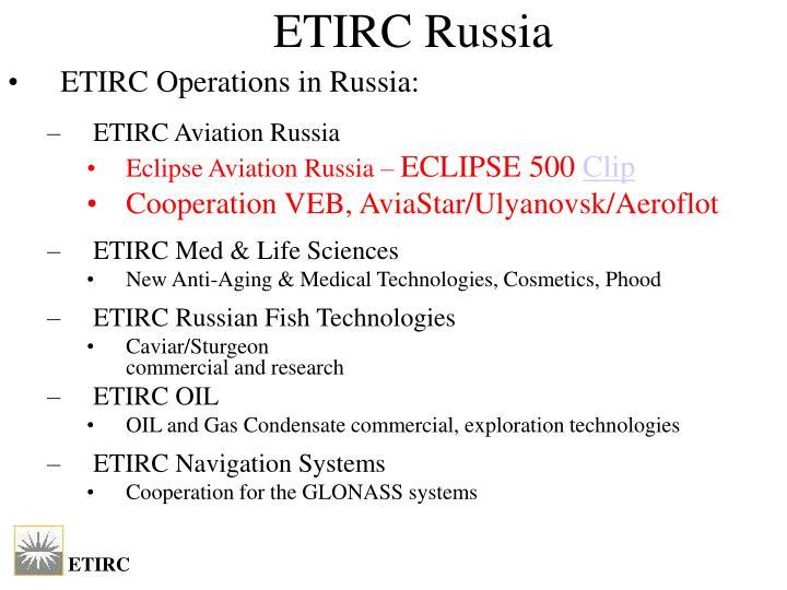 ETIRC Russia