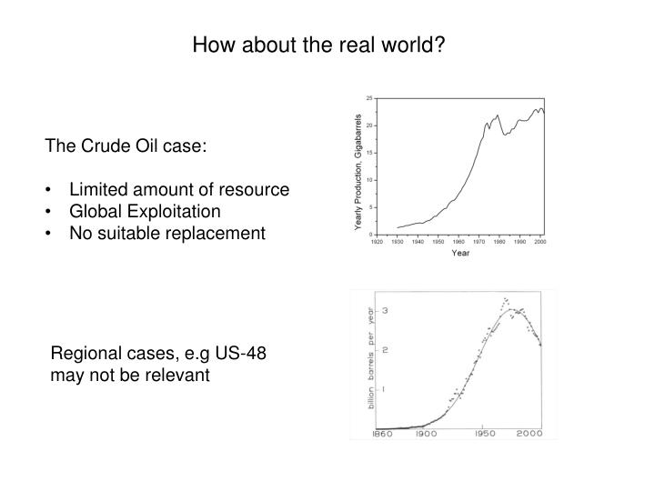 How about the real world?