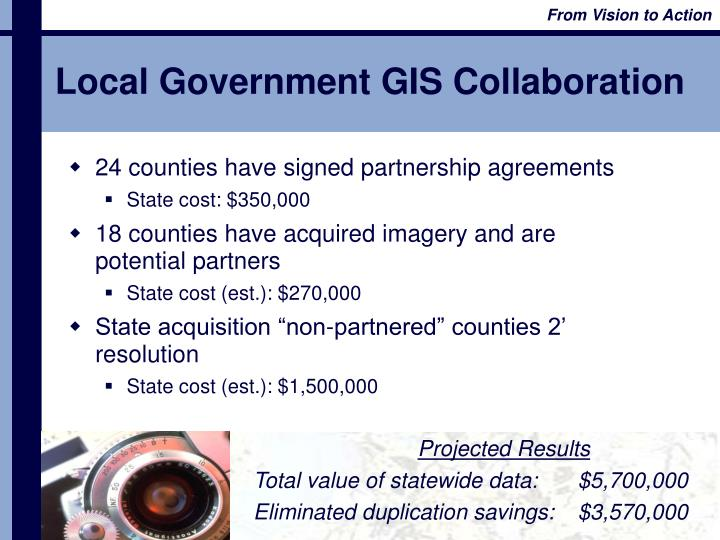Local Government GIS Collaboration