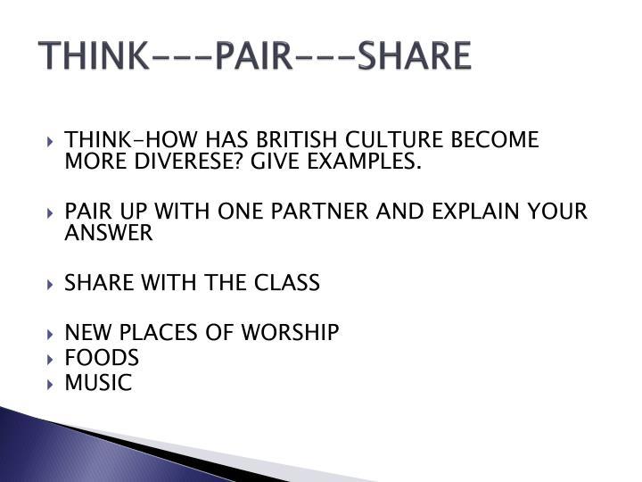 THINK---PAIR---SHARE