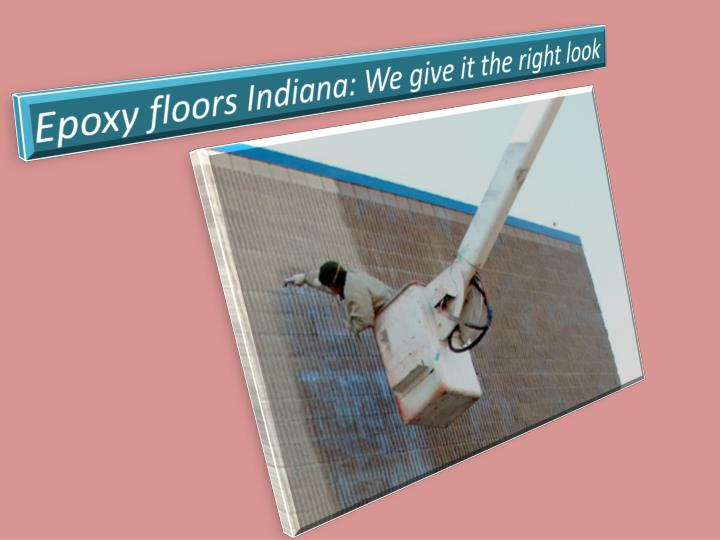 Epoxy floors Indiana: We give it the rightlook