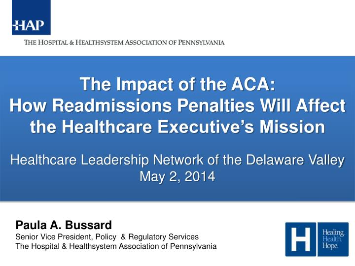 The Impact of the ACA: