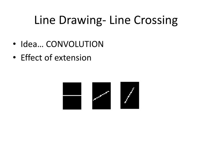Line Drawing- Line Crossing
