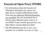 easynet nl open proxy dnsbl