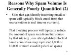 reasons why spam volume is generally poorly quantified 2
