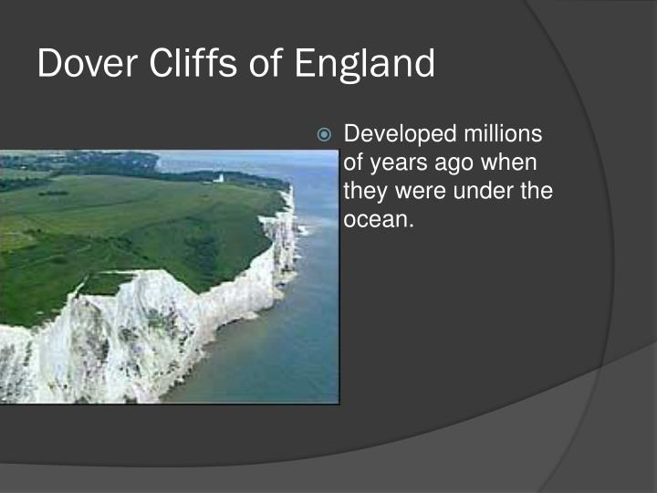 Dover Cliffs of England