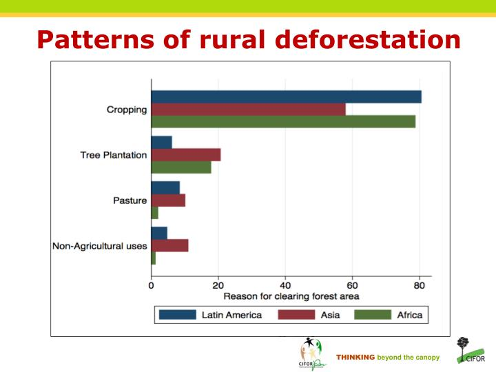 Patterns of rural deforestation