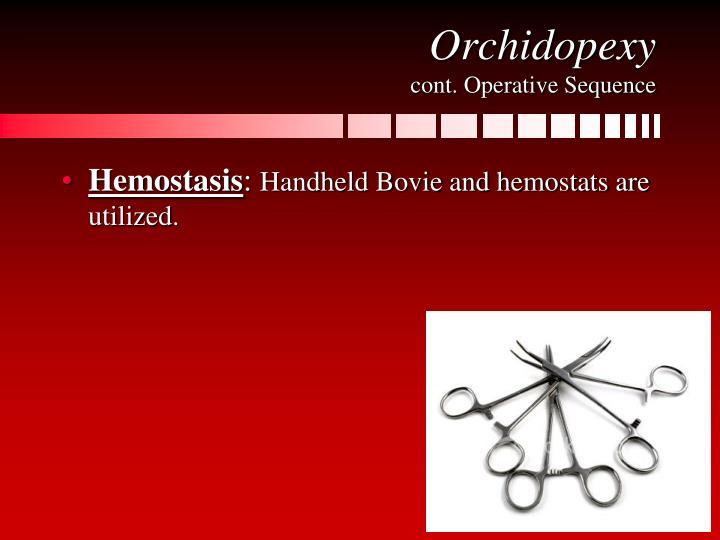 Orchidopexy