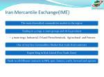 iran mercantile exchange ime