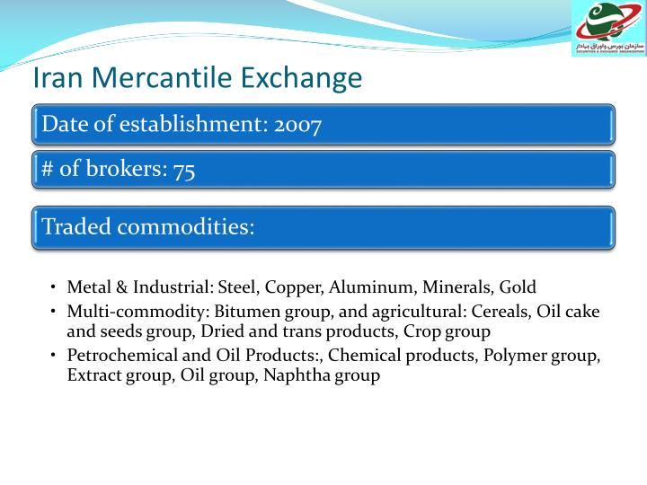 Iran Mercantile Exchange