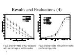 results and evaluations 4