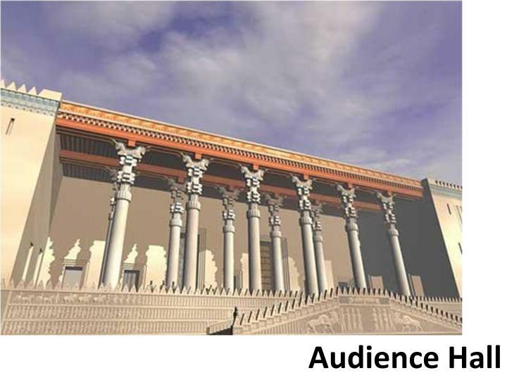 Audience Hall