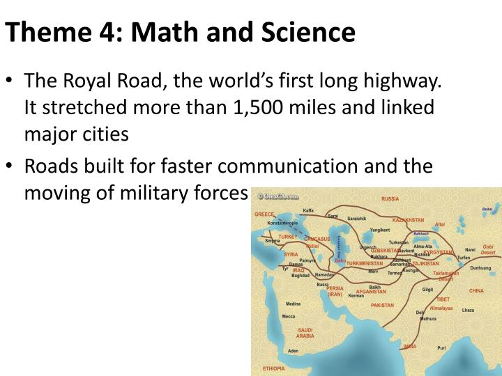 Theme 4: Math and Science