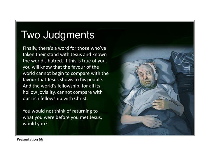 Two Judgments