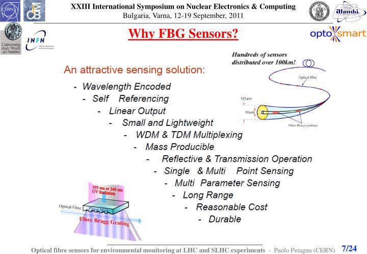 Why FBG Sensors?
