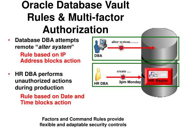 Oracle Database Vault