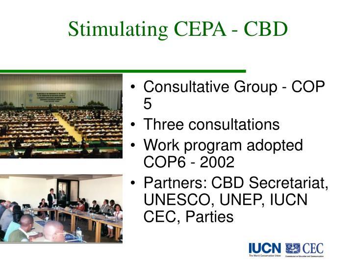 Stimulating CEPA - CBD