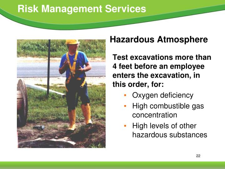 Hazardous Atmosphere