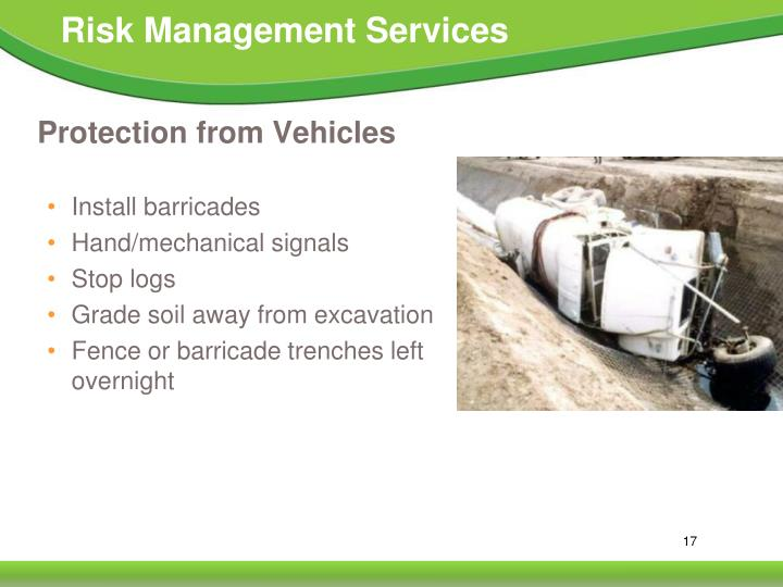 Protection from Vehicles