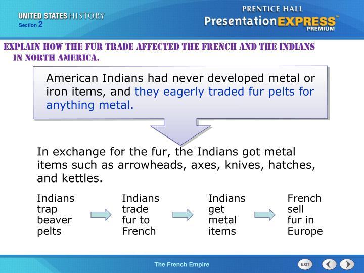 Indians trap