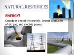 natural resources1