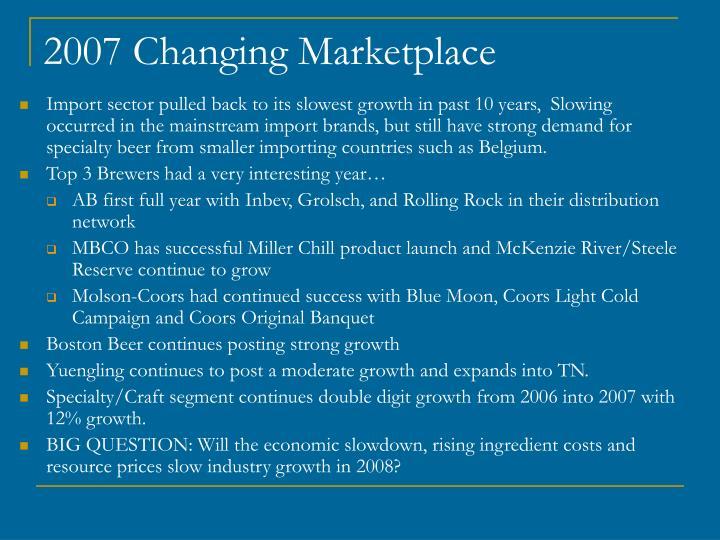 2007 Changing Marketplace