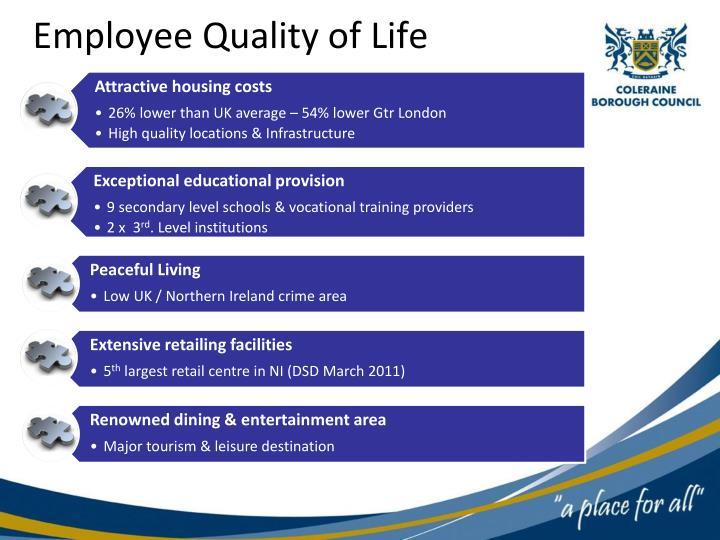 Employee Quality of Life