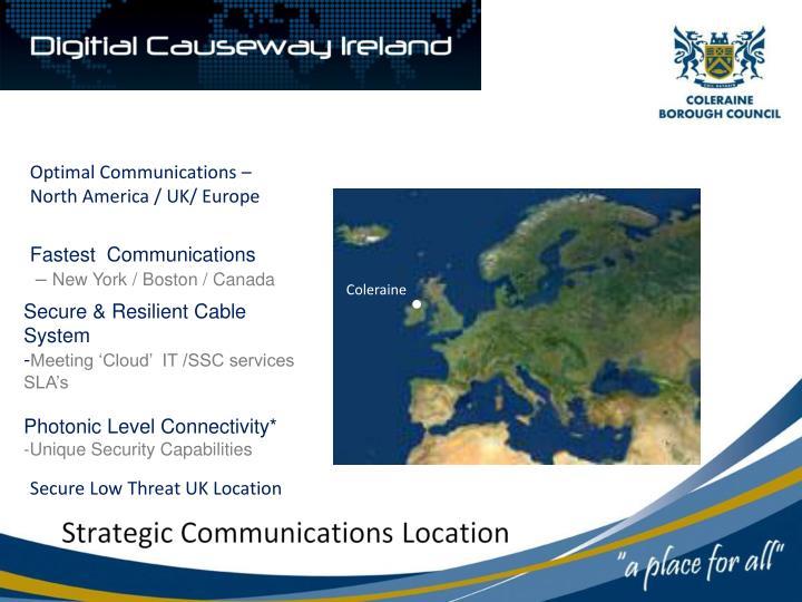 Strategic Communications Location