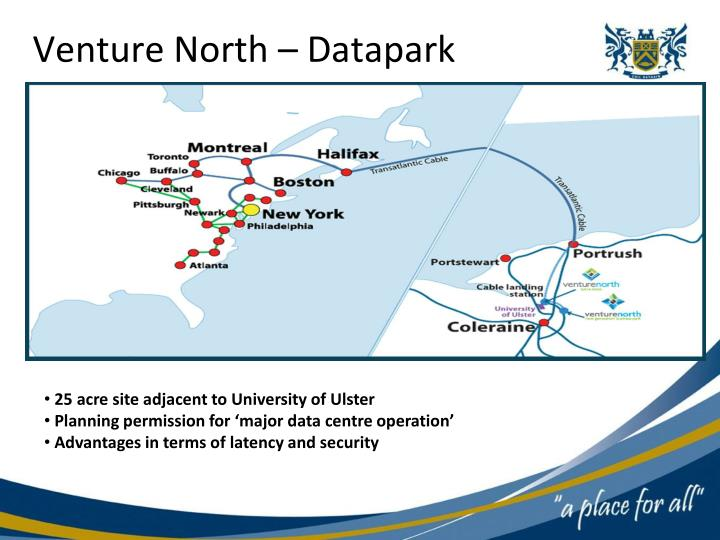 Venture North – Datapark