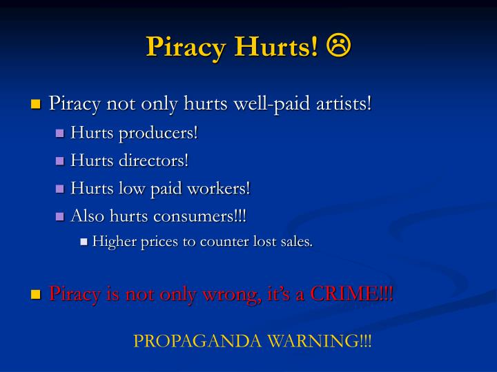 Piracy Hurts!