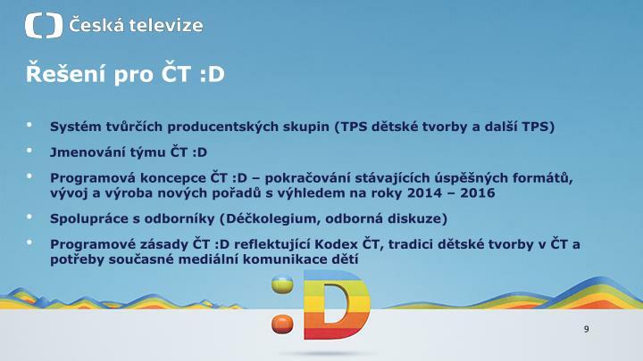 Řešení pro ČT :D