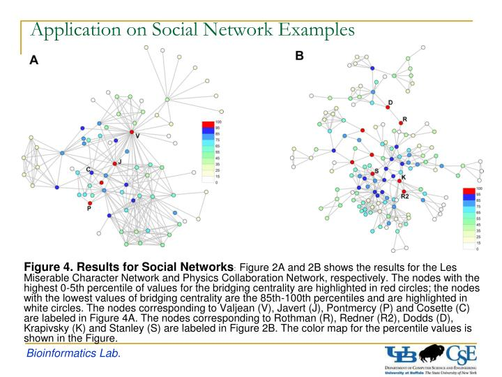 Application on Social Network Examples