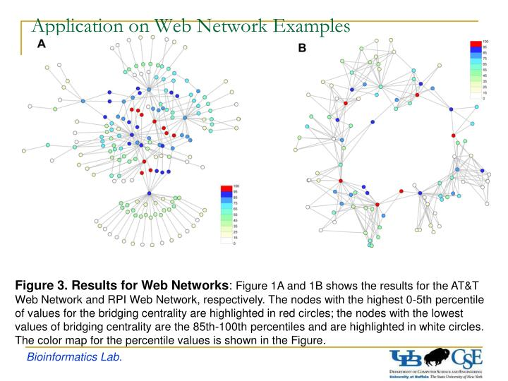 Application on Web Network Examples