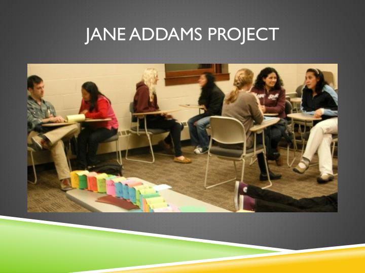 Jane ADDAMS Project