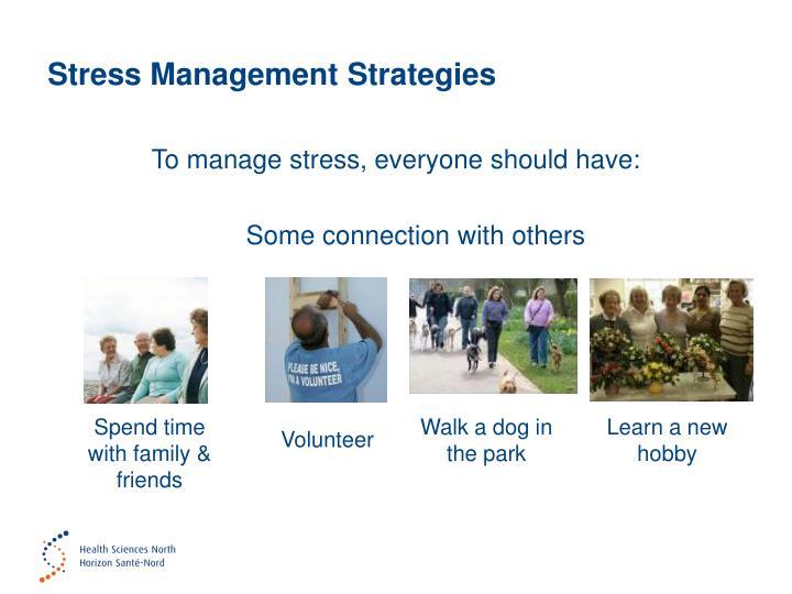 Stress Management Strategies