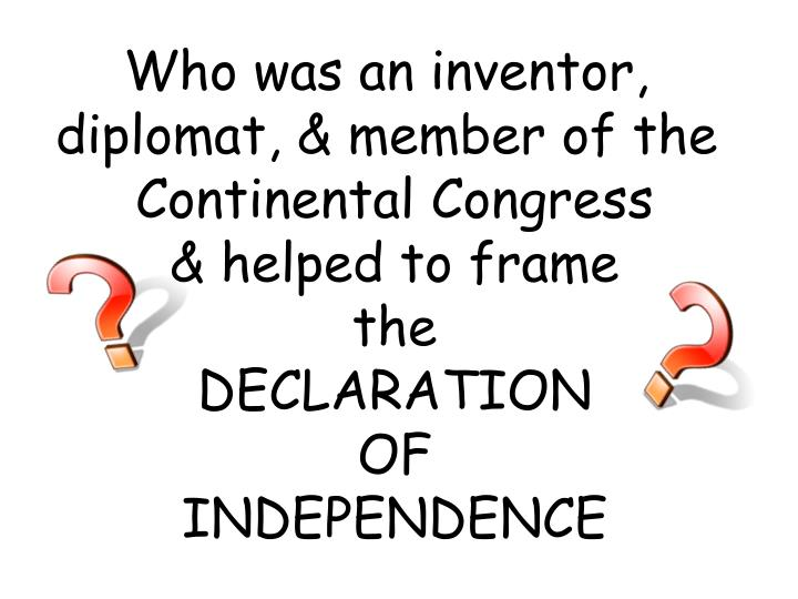 Who was an inventor,